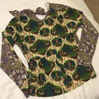 Marni h m blouse silk size 6
