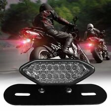 LED Motorcycle Quad ATV Tail Turn Signal Brake License Plate Integrated Ligfq