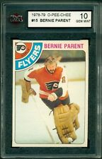 1978 79 OPC #15 BERNIE PARENT KSA 10 GEM MINT FLYERS