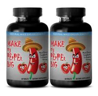 enhancement pills for mens - MAKE MY PEPPER BIG 2170MG 2B - red maca capsules