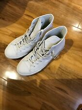Converse in white leather size 7