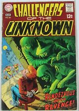 Challengers of the Unknown #66 Mar. 1969, DC Comics