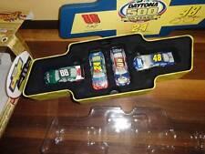 Nascar Winner's Circle Commemorative Four Car Set 2008 Daytona 500 1:64