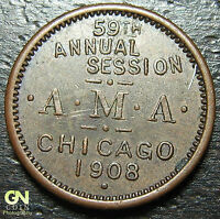 1908 Chicago A.M.A. Convention -- MAKE US AN OFFER!  #O3996
