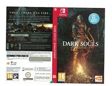 NO GAME Nintendo Switch Dark Souls Remastered promo Sleeve official shop display