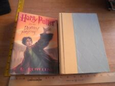 Harry Potter and the Deathly Hallows hardcover 1st Edition 1st Print 2007