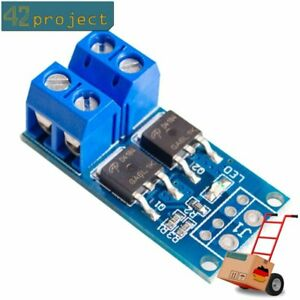 D4184 400W PWM MOSFET Modul 5-36V 15A Transistor LED Motor power Control Arduino
