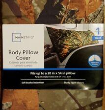 """New! Microfiber Body Pillow Cover Case Protector 20"""" x 54"""" camo"""