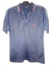 Ben Sherman Script Black/White/Red ---- Polo Shirt ----  LARGE