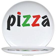 2er Set Pizzateller Dekor Porzellan Pizza Teller 32cm GROSS