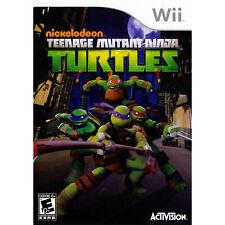 Teenage Mutant Ninja Turtles Wii [Brand New]