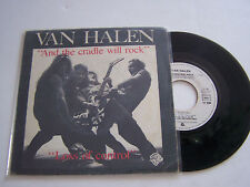 SP 2 TITRES VINYL 45T, VAN HALEN , AND THE CRADLE  . VG + / VG +.  WARNER 17638
