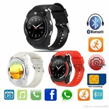 Bluetooth Smart Watch Android For iPhone Samsung Camera Bracelet Fitness Tracker