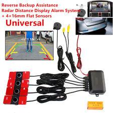 16mm Flat Sensor Car Video Parking Radar Alarm System Reverse Backup Assistant