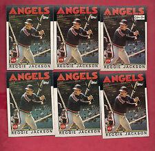 1986 TOPPS / OPC ANGELS REGGIE JACKSON  CARD LOT