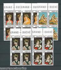 LUXEMBOURG CARITAS  - 1979 YT 948 à 952 - BLOCS DE 4 - TIMBRES NEUFS** LUXE