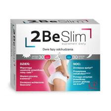 2 BE SLIM Suplement Wspomaga Odchudzanie Dietary Supplement Weight Loss 60tabs