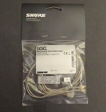 """Shure EAC64CL 64"""" Earphone Replacement Cable for Shure SE Series Earbuds - NEW"""