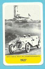 Rudolf Caracciola Auto Car Racing Cool Collector Card Europe Look!