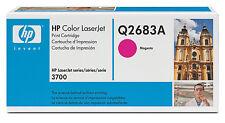 original HP Toner Q2683A   magenta LASERJET 3700 neu B