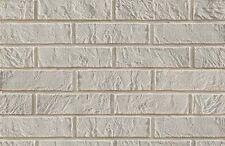 BRICK SLIPS CLADDING WALL TILES FLEXIBLE - 5 Sqm ( m2 ) - WHITE BRICK