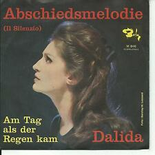7'Dalida >Abschiedsmelodie/Am Tag als der Regen kam< Barclay Germany