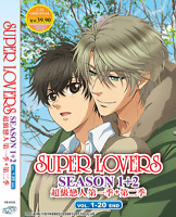 DVD ANIME SUPER LOVERS Sea 1&2 Vol.1-20 End Eng Subs All Region + FREE SHIP