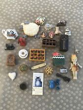 Collection of Dollhouse Miniatures and Other Smalls