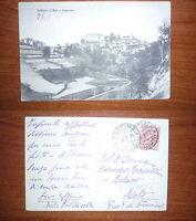 SETTIME D'ASTI-PANORAMA(ALESSANDRIA) F.P. VIAGGIATA 1916 N.40.050 R@R@ BELLA