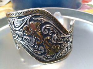 Montana Silversmiths Southwestern Silver Cuff Bracelet