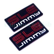84 85 86 87 88 89 90 91 GMC Jimmy SLE emblem Pillar Cab Roof Side NEW 2pc C/K