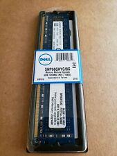 Brand New Dell / Kingston 8 GB PC3-12800U Memory Ram 2Rx8, Model #: SNP66GKYC/8G
