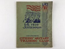 Citizens Military Training Camps The 1930's Jeffersonian Softcover Book