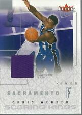 2003-04 Ultra Scoring Kings Game Used #7 Chris Webber Jersey - NM-MT