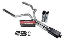 "Chevy Gmc 1500 Truck 99-06 3"" Dual Exhaust Kits Flowmaster Super 44 Slash Tip"