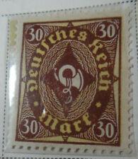 Germany 1921-22 Stamp 30 Mark MNH Stamp Rare Antique Excellent StampBook1-120