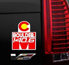 Any year Magnet BOULDER COLORADO Ironman Triathlon  Finisher Magnet
