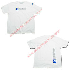 """IN STOCK"" AUTHENTIC SPARCO APPAREL ""WWW"" T-SHIRT WHITE - SIZE- SMALL"