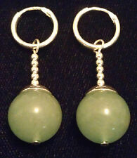 Green Jade Potara Earrings DBZ Ear Rings DragonballZ Earings Dragonball-Z