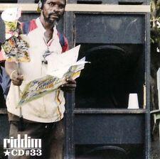 RIDDIM CD # 33 Gentleman Sizzla Assassin Alborosie Dancehall Roots Culture