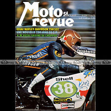 MOTO REVUE N°2291 HARLEY-DAVIDSON 250 SST HONDA CB 750 836 AMERICAN AMH 1976