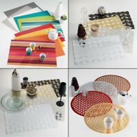 PVC Dining Table Protector Placemat  - Round or Rectangular