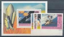 219498) Elfenbeinküste Nr.680-3+Bl.17** Raumfahrt