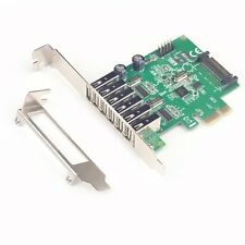 6 Ports USB 2.0 PCIE HUB CARD Renesas usb expansion USB 2.0 PCI-Express card