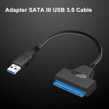 USB 3.0 zu SATA 22Pin SSD 2,5 Zoll Festplatte Adapter Kabel USB Konverter
