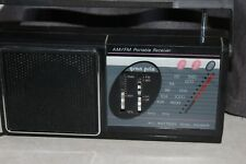 Vintage Gran Prix  AM FM Portable Receive AC/Battery Dual Power Model # A222