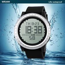 HONHX Luxury Brand Mens Sports Watches LED Digital Date Countdown Timer Sport El