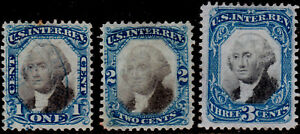 R103-105 Fresh 2nd Issue set - VF