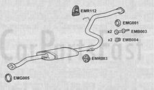 Exhaust Middle Box Mazda 323 1.3 Petrol Hatchback 01/1997 to 08/1998