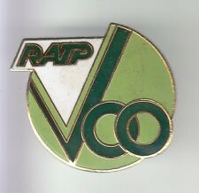 RARE PINS PIN'S .. TRAIN RAILWAYS RATP CAR BUS OCCASION VOO DEPOT STAINS 93 ~DH